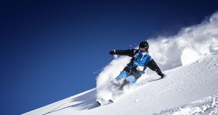 Movimientos esquiando